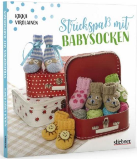Bild von VIROLAINEN Strickspass mit Babysocken