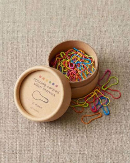 Bild von COCOKNITS Opening Colored Stitch Markers