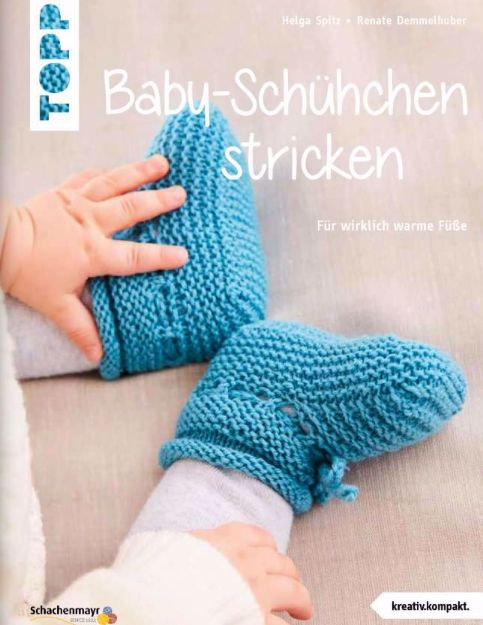 Bild von SPITZ Baby-Schühchen stricken