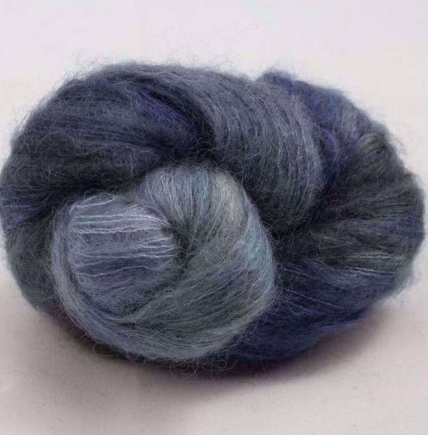 COWGIRLBLUES FLUFFY MOHAIR BLEND moody blues 20