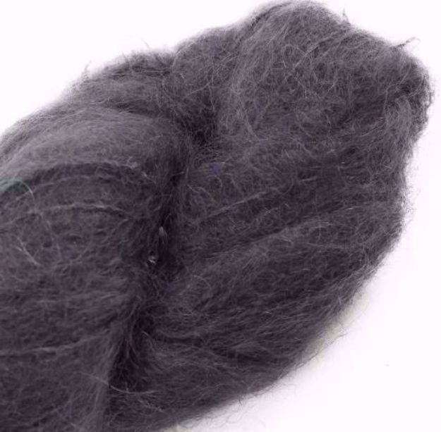 COWGIRLBLUES FLUFFY MOHAIR SOLIDS charcoal