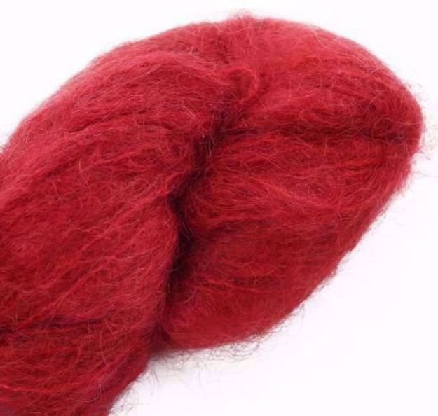 COWGIRLBLUES FLUFFY MOHAIR SOLIDS chilli pepper