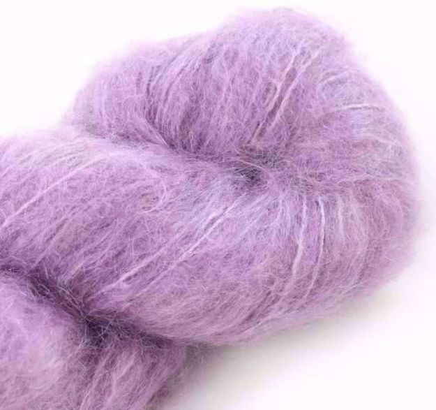 COWGIRLBLUES FLUFFY MOHAIR SOLIDS orchid blush