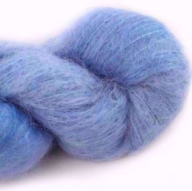 COWGIRLBLUES FLUFFY MOHAIR SOLIDS seagrass