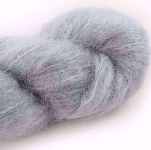 COWGIRLBLUES FLUFFY MOHAIR SOLIDS silver fox