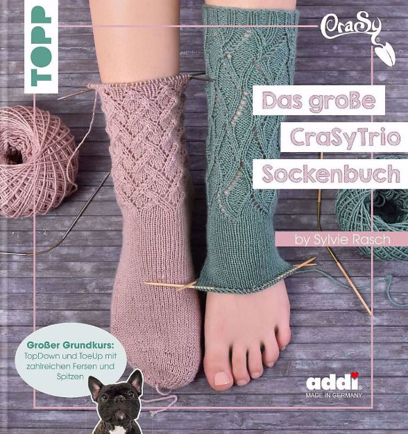 Bild von RASCH Das grosse CraSyTrio Sockenbuch