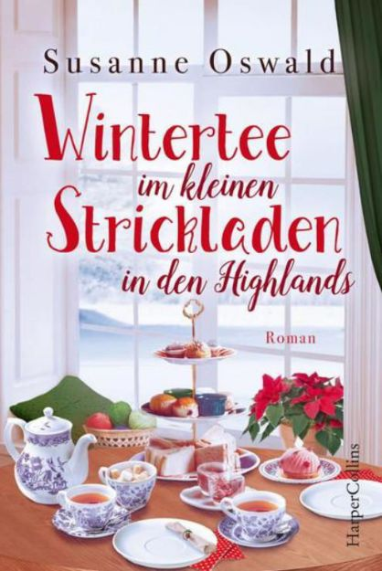 Bild von OSWALD Wintertee im kleinen Strickladen in den Highlands