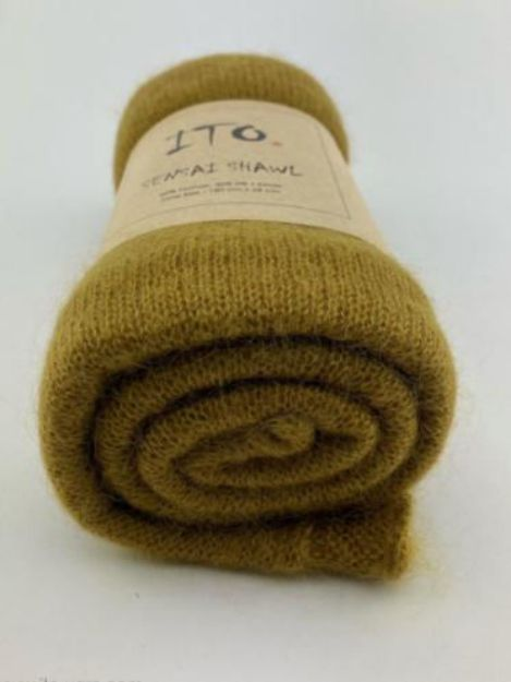 ITO SENSAI SHAWL Mustard 691