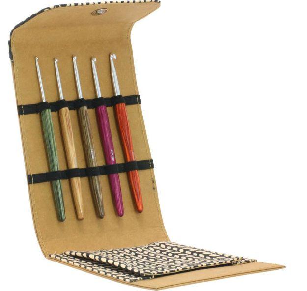 Bild von LANA GROSSA Häkel Set Design-Holz Signal klein alcantara