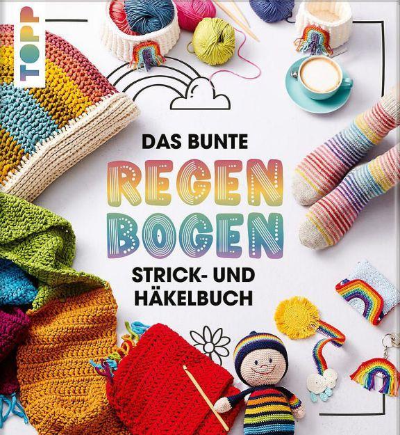 Bild von Das bunte Regenbogen Strick- und Häkelbuch
