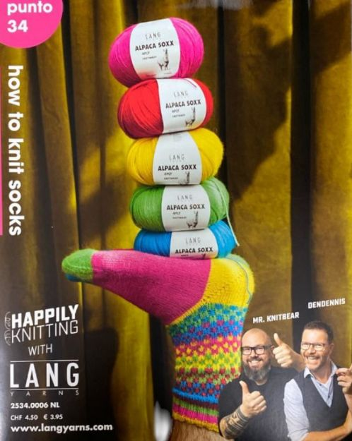 Bild von LANG PUNTO 34 How to knit socks